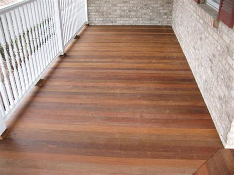 Pickling Your Tongue And Groove Wood Porch Decking - HOUSE
